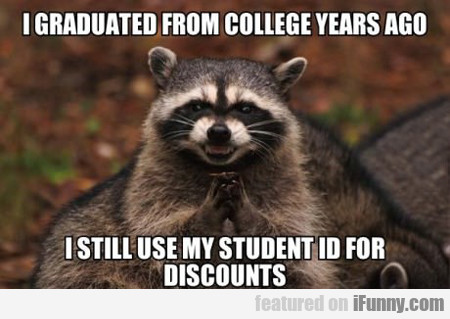 I Graduated From College Years Ago...