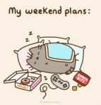My Week-end Plans