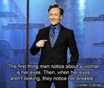 The First Thing Men Notice About A Woman...