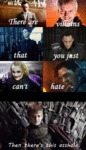 There Are Villains That You Just Can't Hate...