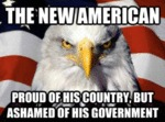 The New American, Proud Of His Country...