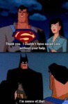 Thank You. I Couldn't Haved Saved Lois Without...