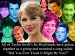 All Of Taylor Swift's Ex-boyfriends...