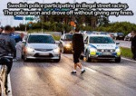 Swedish Police Participating In Illegal...