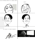 Le Me Working Hard On A Rage Comic...