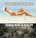 Sunbathing In Your Head...