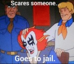 Scares Someone, Goes To Jail
