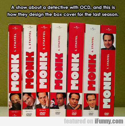 A Show About A Detective With Ocd...