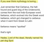 If You Ever Think Mythology Is Boring...
