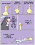 There Is No Grim Reaper. There Is Only The Duck...