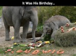It Was His Birthday
