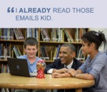 I Already Read Those Emails Kid