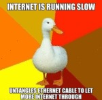 Internet Is Running Slow...