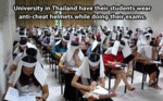 University In Thailand Have Their Students...