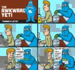 The Awkward Yeti Thanks A Latte