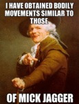I Have Obtained Bodily Movements Similar To...