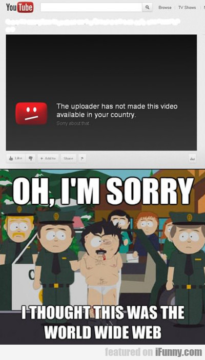 The Uploader Has Not Made This Video Available...