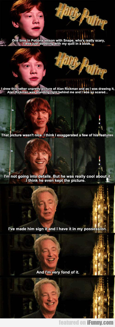 One Time In Potions Lesson With Snape...