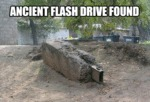 Ancient Flash Drive Found...