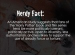 Nerdy Fact: A Study Suggests That Fans Of The...