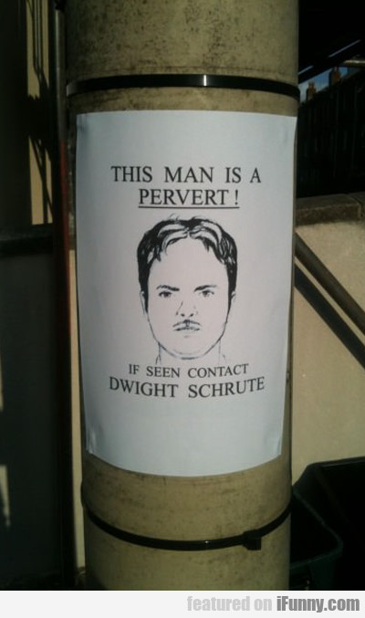this man is a pervert!