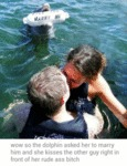 Marry Me, Wow So The Dolphin Asked Her To...