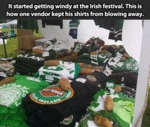 It Started Getting Windy At The Irish Festival...