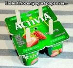 Easiest Frozen Yogurt Pops Ever...