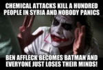 Chemical Attacks Kill A Hundred People...