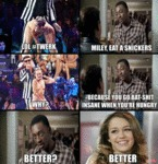 Lol#twerk, Miley, Eat A Snickers...