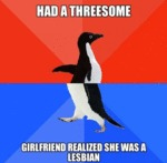 Had A Threesome, Girlfriend Realized She Was...