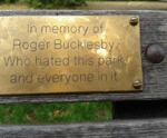 In Memory Of Roger Bucklesby...