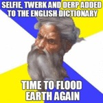 Selfie, Twerk And Derp Added To The English...