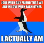 Joke With Guy Friend That We Are In Love With...