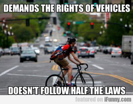 Demands The Rights Of Vehicles...