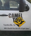 Camel Tow: We'll Snatch You Out Of A Tight Spot...