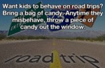 Want Kids To Behave On Road Trips?