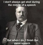 I Don't Always Get Shot During The Middle Of A...