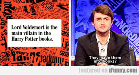 Lord Voldemort Is The Main Villain In The Harry...