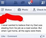 I Never Wanted To Believe That My Dad Was..