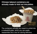 Chinese Take Out Containers Are Actually...