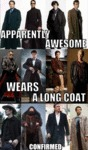 Apparently Awesome Wears A Long Coat, Confirmed