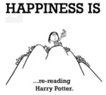 Happiness Is Re-reading Harry Potter