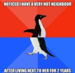 Noticed I Have A Very Hot Neighbor...