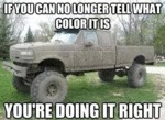If You Can No Longer Tell What Color It Is...