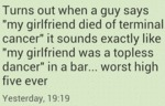 "Turns Out When A Guy Says ""my Girlfriend..."
