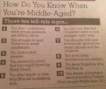 How Do You Know When You' Re Middle-aged?