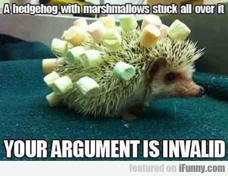 A Hedgehog With Marshmallows Stuck All Over It