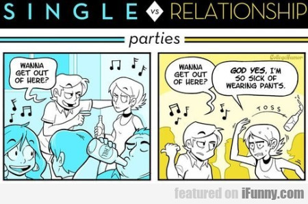 Single Vs Relationship