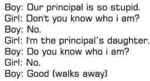 Our Principal Is So Stupid